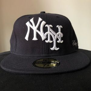 Yankees x Mets Stix Figures Fitted Hat (7 1/4)